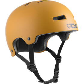 TSG Evolution Solid Color Helmet satin yellow ochre